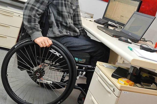 Arbeitsagentur wirbt für die Beschäftigung von Menschen mit einer Behinderung