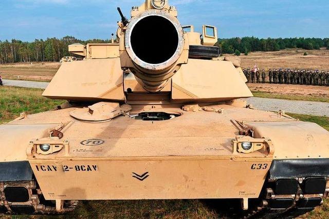 Rüstungsausgaben steigen weiter – USA an der Spitze