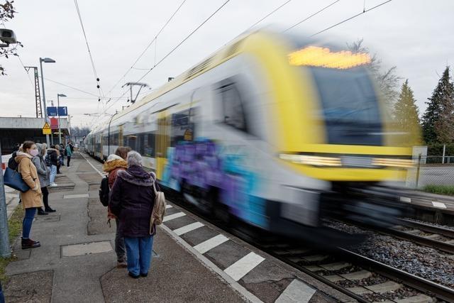 Das ist der neue Fahrplan der Breisgau-S-Bahn ab 13. Dezember
