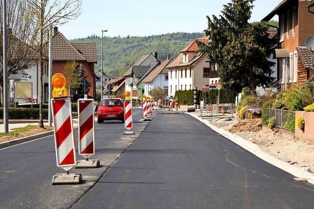 Die Ortsdurchfahrt Lahr-Reichenbach wird für mehrere Tage gesperrt