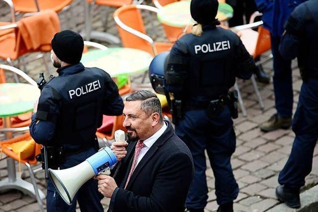 Die AfD will am Samstag auf dem Lörracher Bahnhofsplatz demonstrieren