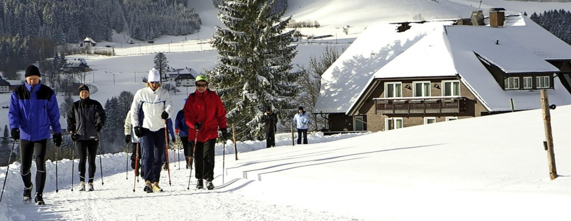 Auch im Winter sind wohl verstärkt Aus...r liegenzulassen, sondern mitzunehmen.  | Foto: Dieter Maurer
