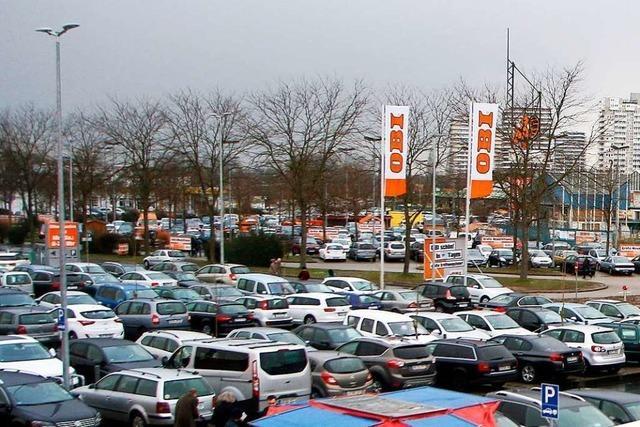 Der Verkehr beim Fachmarktzentrum in Lahr-Mietersheim soll entzerrt werden