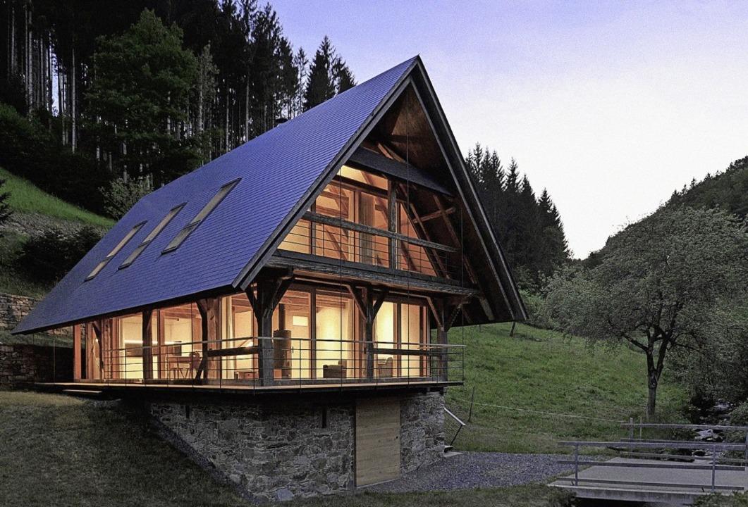 Beispielhaftes Holzbauprojekt: zum Woh...isches Speichergebäude in Oberwolfach     Foto: Johannes Harter (Architekt)