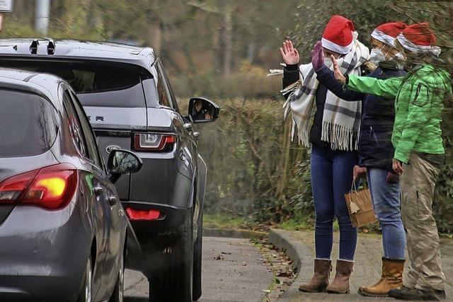 Drive-in zum Nikolaustag