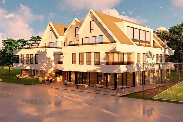 Neubauprojekt mit Café in Pfaffenweiler geplant