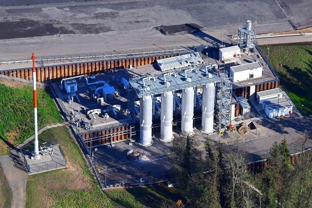Eine Hauptschlagader für Erdgas ist in Wehr