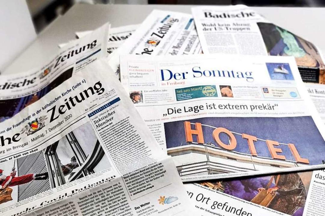 Der Badische Verlag bemüht sich in sei...n. Das bringt oft Zumutungen mit sich.  | Foto: Manuela Müller