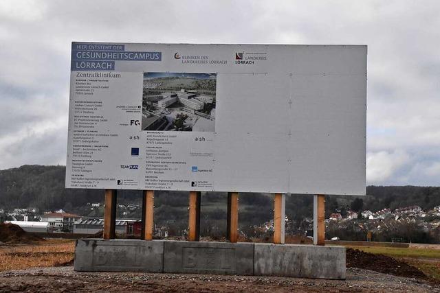 Der Bau des Zentralklinikums in Lörrach wird konkret