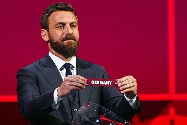 Liveticker zum Nachlesen: Auslosung der WM-Quali-Gruppen für 2022