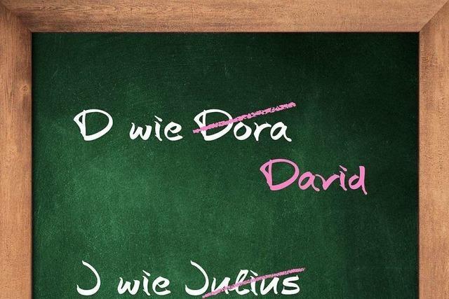 Michael Blume über die deutsche Buchstabentafel und jüdische Namen