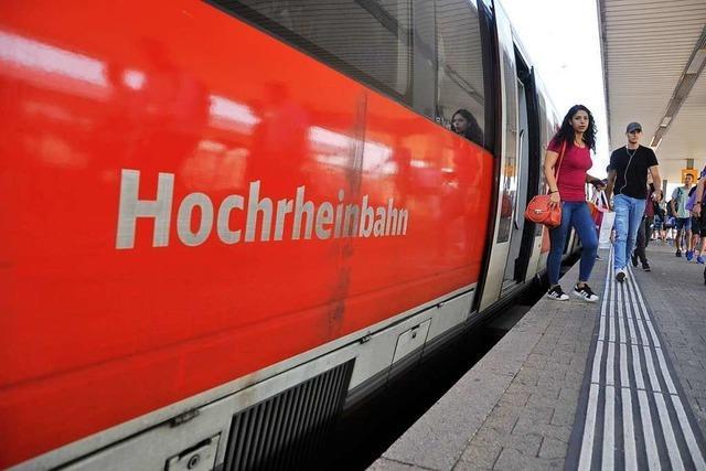 Der Ausbau der Hochrheinbahn nimmt eine weitere Hürde