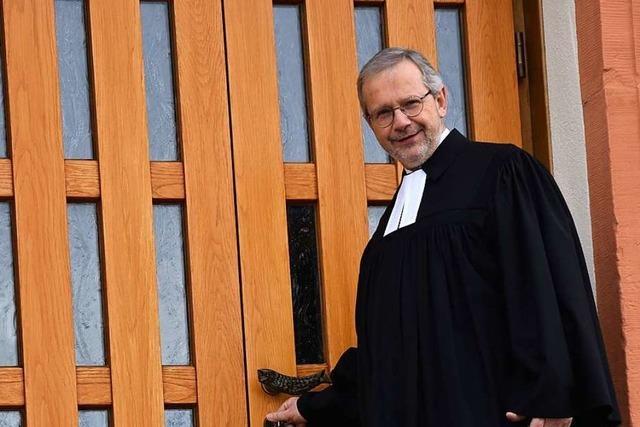 Gundelfingens Pfarrer Helmut Becker wechselt nach Mannheim
