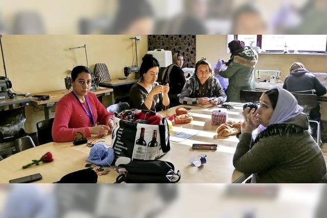 Corona verhindert den Besuch im Flüchtlingslager