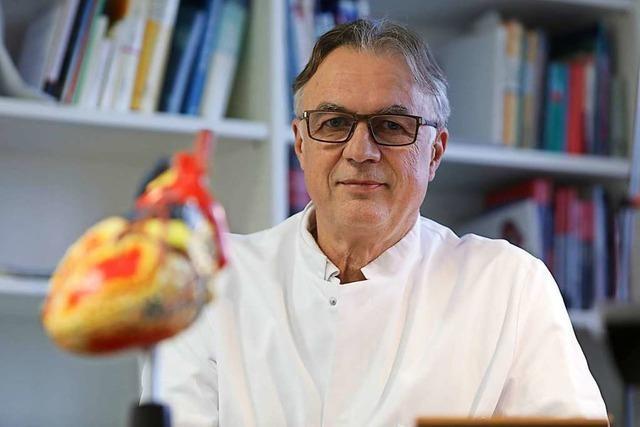 Manfred Mauser, der Chefarzt der Kardiologie am Lahrer Klinikum, geht in den Ruhestand