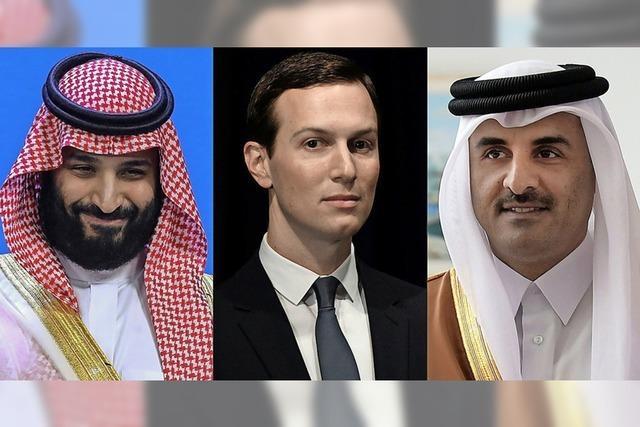 Saudi-Arabien und Qatar wollen Familienkrach beilegen