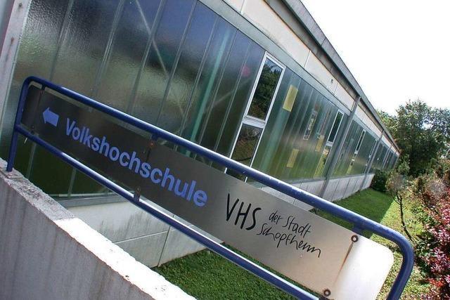 Die Volkshochschulen im Kreis Lörrach fahren ihr Angebot gegen null