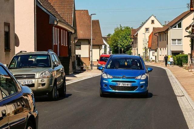 Die Parksituation in der Hauptstraße in Grafenhausen bereitet den Gemeinderäten Kopfzerbrechen