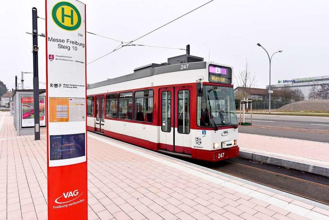 Die neue Haltestelle  | Foto: Thomas Kunz