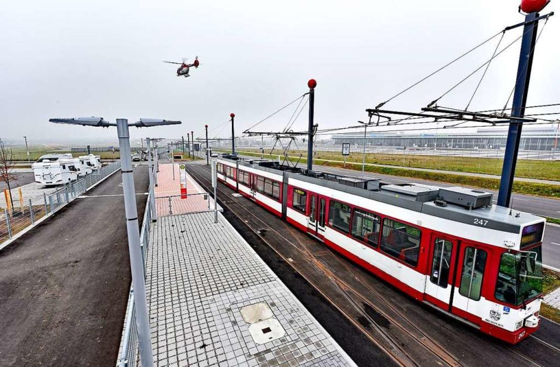 Tram von oben  | Foto: Thomas Kunz