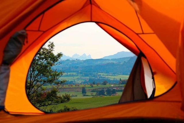 Schlafplätze in der Natur: