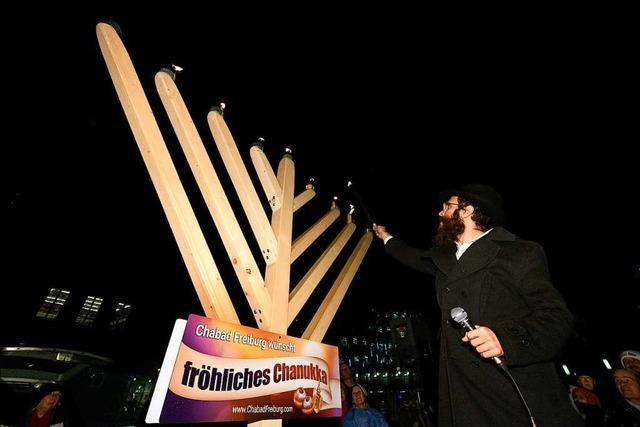 Sehr vielfältig feiern die drei jüdischen Gemeinden in Freiburg Chanukka