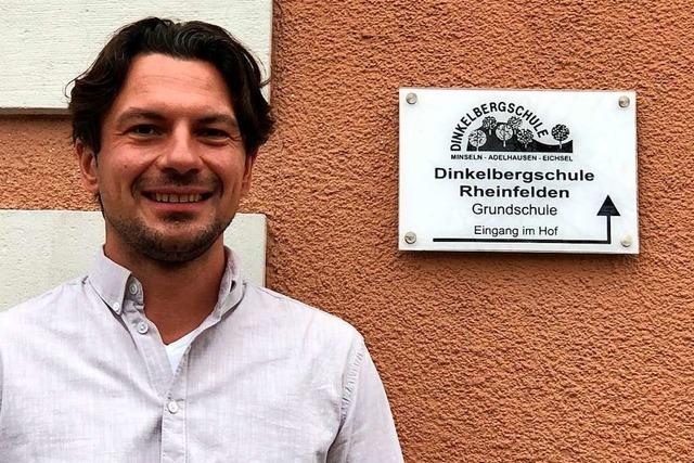 Die Dinkelbergschule hat endlich wieder einen Schulleiter