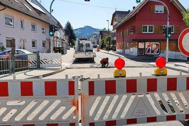 Vollsperrung in Lahr-Reichenbach wird auf das Frühjahr verschoben