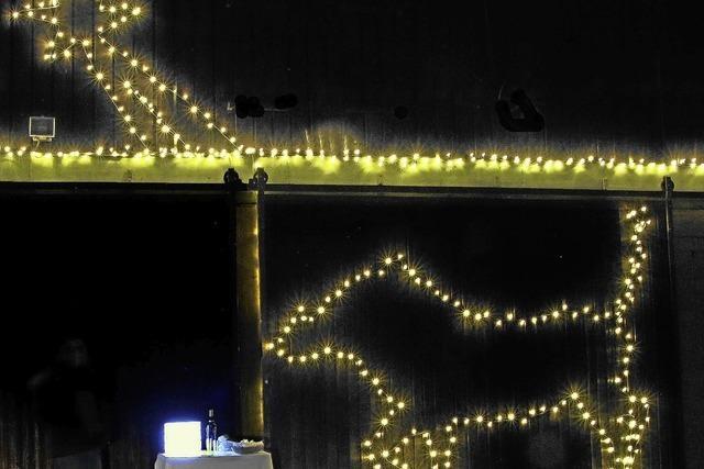Leuchtende Adventsfenster