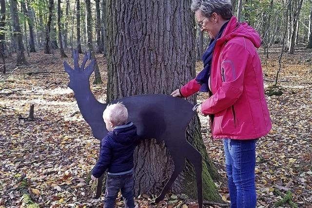 Tierfiguren aus Holz