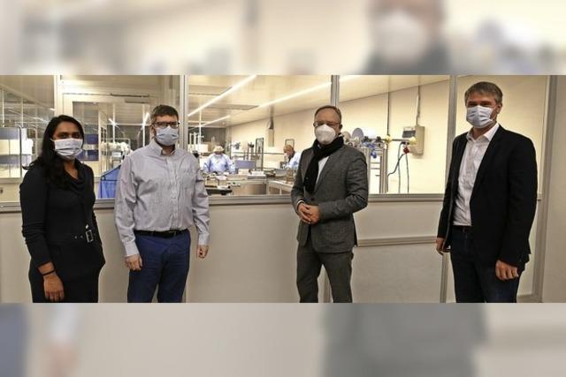 Bis zu 70 000 Masken täglich werden in Langenau produziert