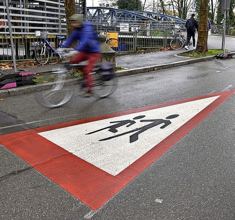 Auch Fußgänger stehen im Fokus    Foto: Thomas Kunz