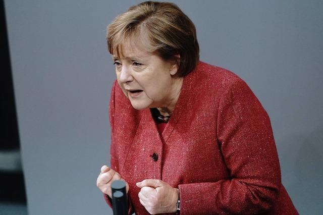 Merkel warnt vor neuer Infektionswelle