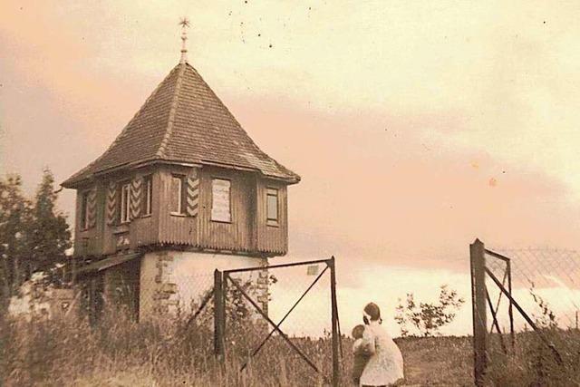 In der Nachkriegszeit diente das Lehener Türmle als Wohnhaus