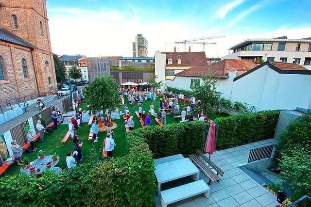 Größere Gottesdienste werden in Lörrach im Freien gefeiert