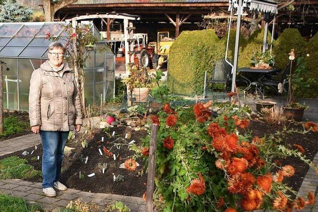 Was für Heidi Kuny aus Rheinfelden das Warten in ihrem Garten bedeutet