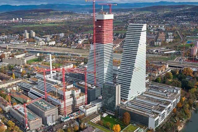 Der Standortleiter von Roche verteidigt die Pläne für weitere Bauten in Basel