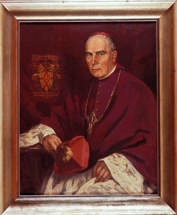 Erzbischof Conrad Gröber.  | Foto: Erzbischöfliches Ordinariat