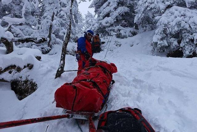 Bergwacht Schwarzwald rechnet mit schwierigen Einsätzen im Corona-Winter