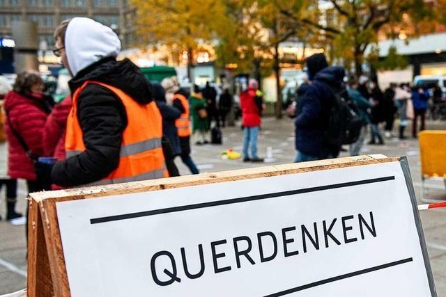 Querdenken rechnet mit weniger Teilnehmern bei Demo in Weil am Rhein