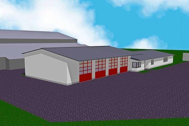 Die Planung für das neue Feuerwehrhaus wird konkreter – während das Bürgerbegehren läuft