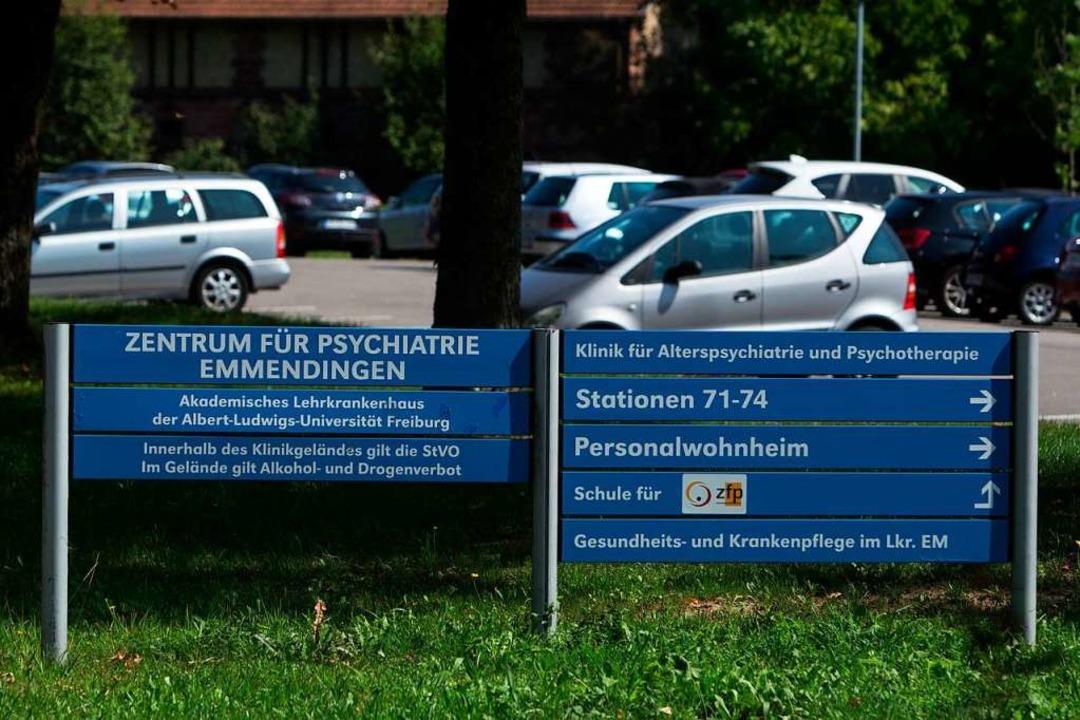 Parkplatz am Zentrum für Psychiatrie  | Foto: Patrik Müller