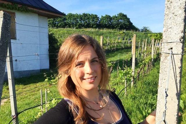 Rebecca Heger (Weingut Salwey in Oberrotweil)