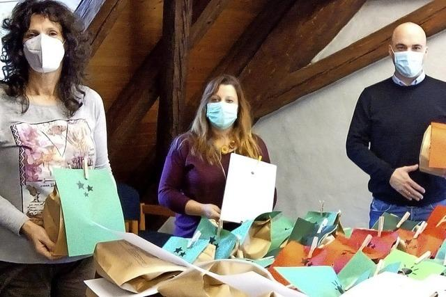 Gemeinde Schuttertal verteilt Basteltüten