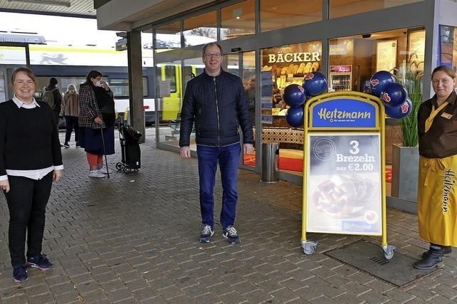 Heitzmann eröffnet Filiale am Bahnhof