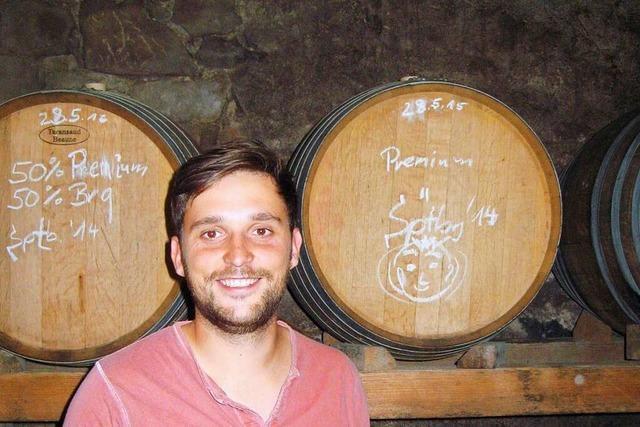 Simon Weiß (Weingut Rosen & Wein in Bahlingen)