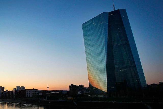Europäische Zentralbank verlängert Krisenprogramm bis Sommer 2022