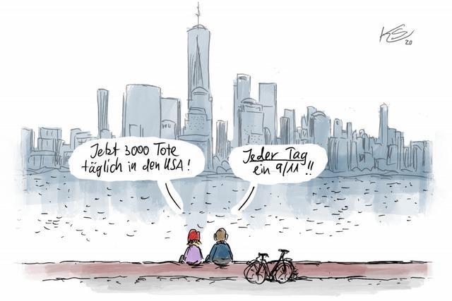 Wie am 11. September