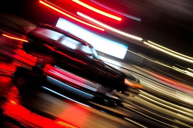 Raser überholen Zivilstreife der Bundespolizei in Weil am Rhein