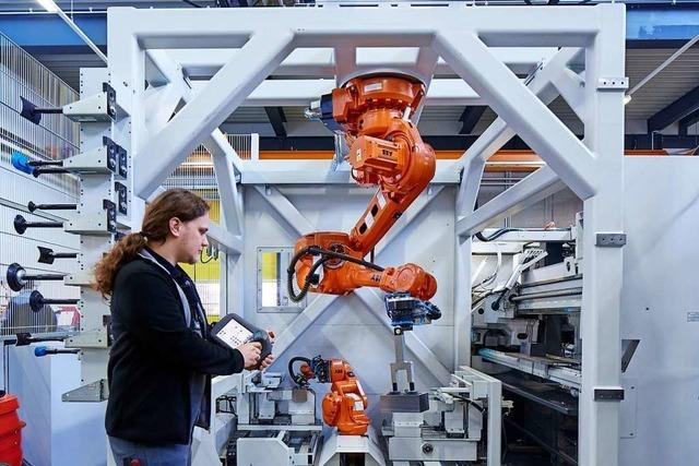 AHP Merkle aus Gottenheim stellt Hydraulikzylinder her